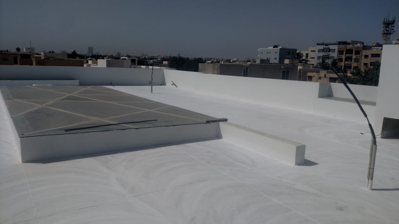 Roof Heat Proofing | roof heat proofing cost in pakistan | heat insulation for roof in pakistan | heat resistant paint for roof in pakistan | roof insulation price in pakistan | sky chemical services