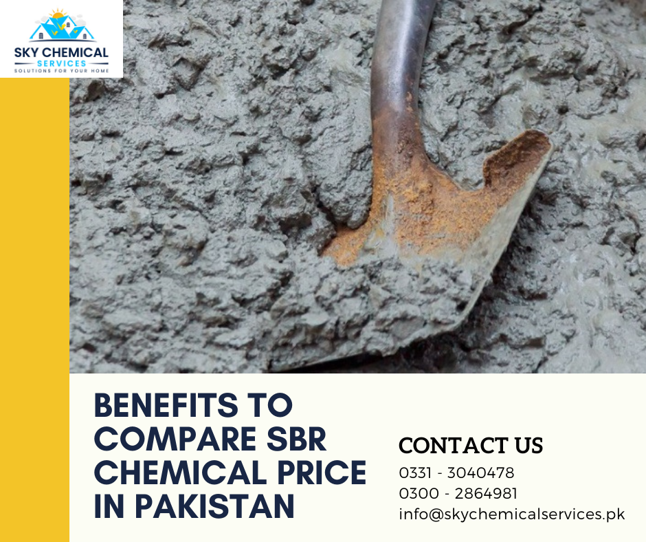 SBR chemical price in Pakistan | waterproofing chemical price in pakistan | sbr chemical uses in urdu | roof leakage chemicals price in pakistan | sbr chemical for concrete | sky chemical services