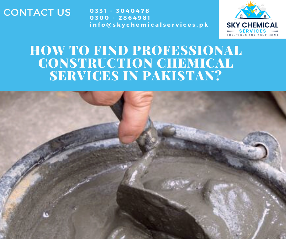 construction chemical services in Pakistan | construction chemicals companies in pakistan | construction chemicals companies in karachi | construction chemicals lahore | pakistan construction chemicals pvt ltd | sky chemical services