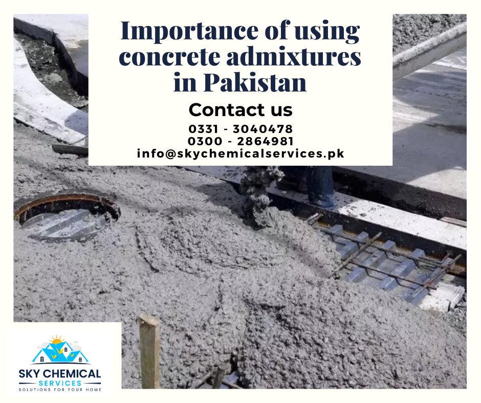concrete admixtures in Pakistan | types of admixtures available in pakistan | construction chemicals in pakistan | antifreeze for concrete in pakistan | sika pakistan | sky chemical services
